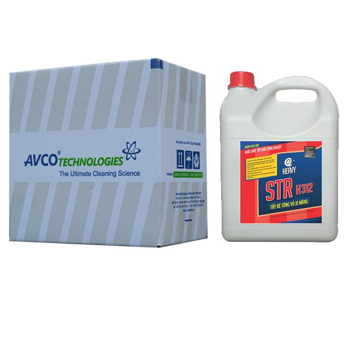 Hóa chất tẩy xi măng STR H312 - Thùng 4 can 4L