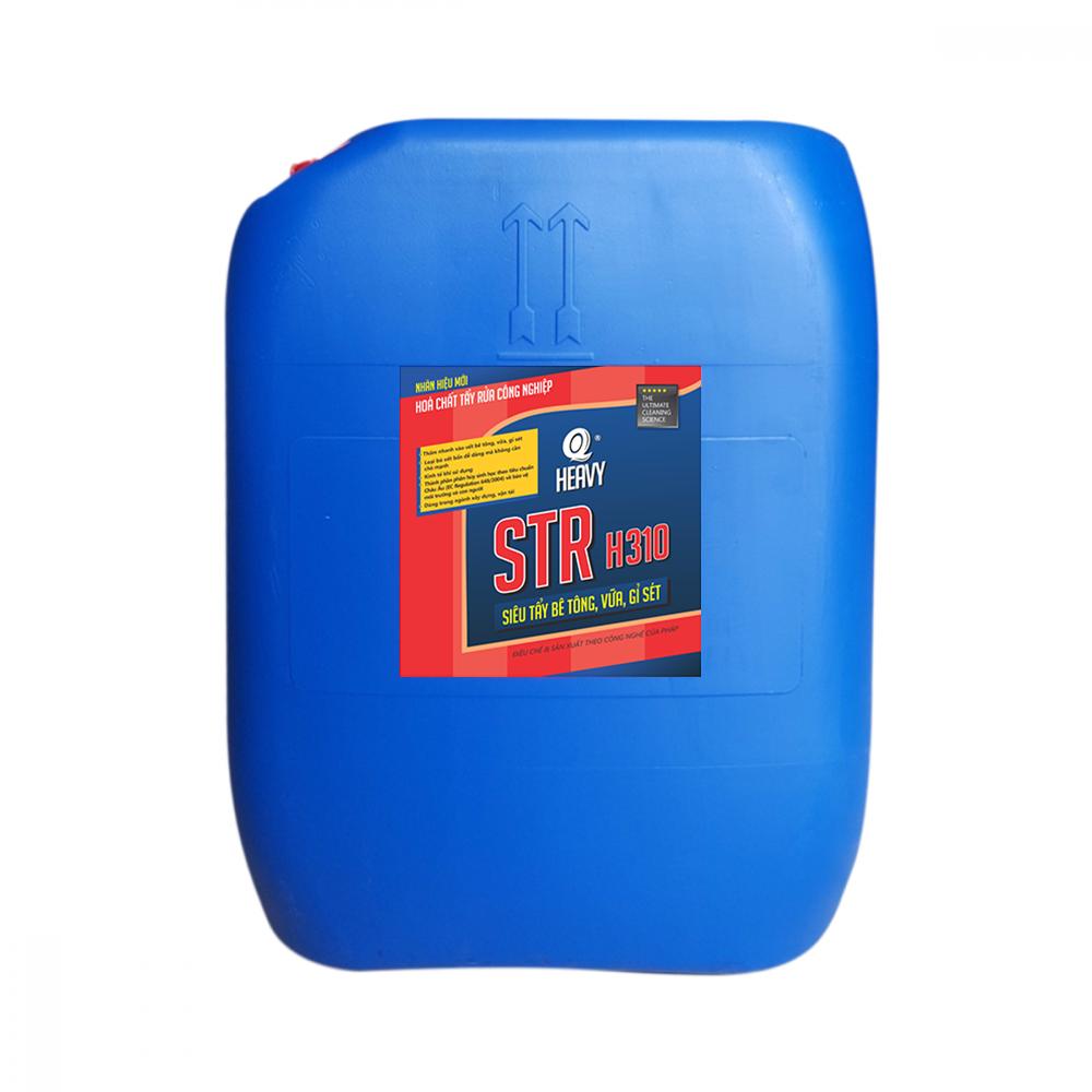 Hóa chất tẩy rửa bê tông, cặn, gỉ sét STR H310 - Can 30L