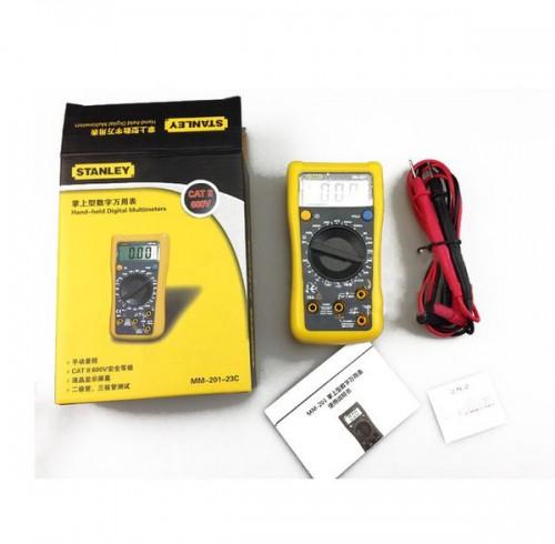Dụng cụ đo mạch điện : đồng hồ đo điện digital Stanley MM-201-23C