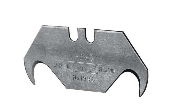 Lưỡi dao rọc cáp cong (vỉ 5 lưỡi) Stanley 0-11-983