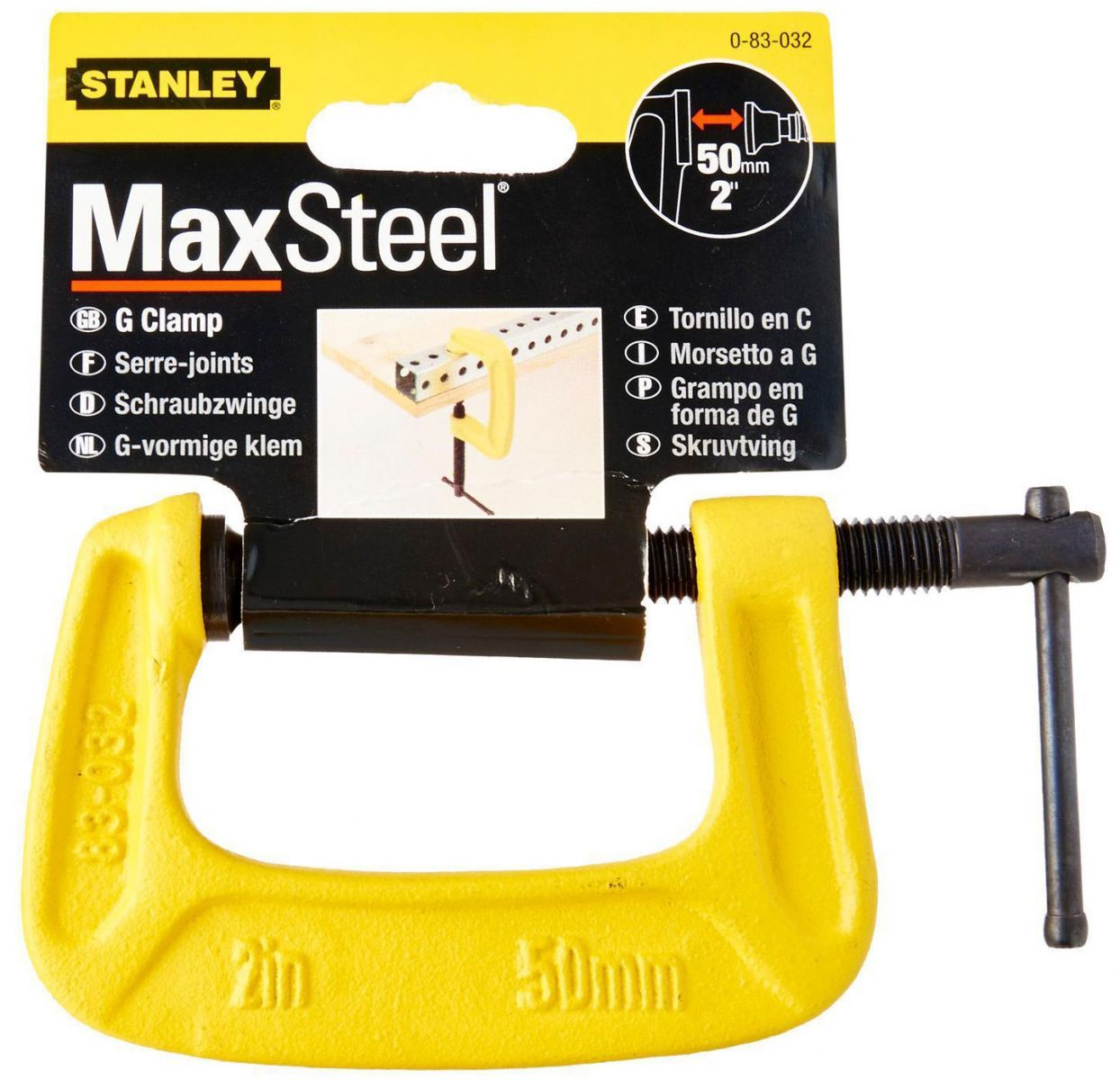"Kẹp kiểu chữ C 4"" Stanley 83-034K"