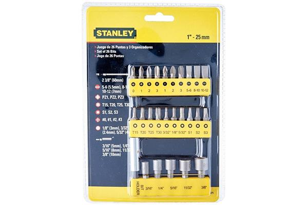 Mũi vặn vít bộ 29P Stanley 68-071-23