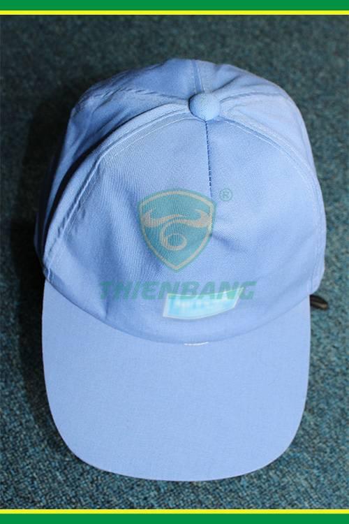 Mũ vải công nhân màu xanh nhạt