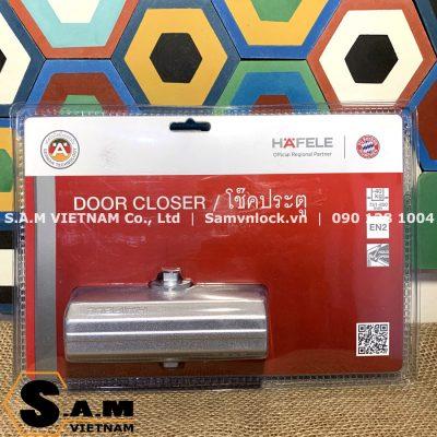 Tay đẩy hơi DIY HAFELE 489.30.012, cửa nặng 45kg, có giữ cửa