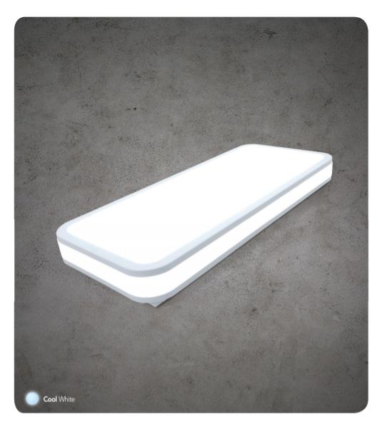 Đèn Led Ốp Trần Phòng Ngủ System 30W