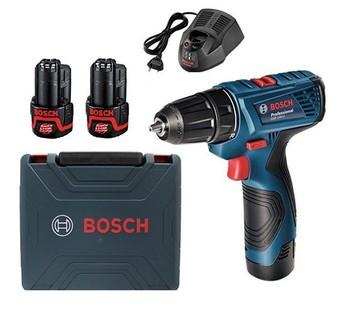 Máy khoan dùng pin 12V GSR 120-LI GEN II (kèm bộ phụ kiện) 06019G80K2 Bosch