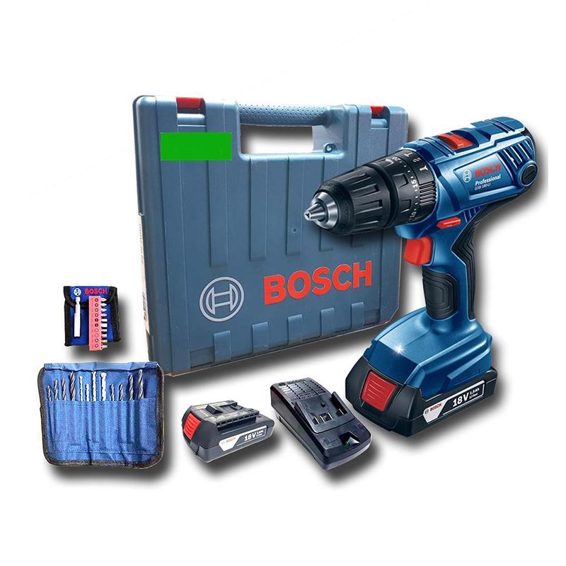 Máy khoan pin 18V GSB 180-LI (kèm phụ kiện) 06019F83K1 Bosch