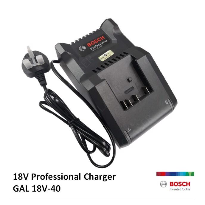 Sạc nhanh GAL 18V-40 (14.4V, 18V) 1600A019RJ Bosch