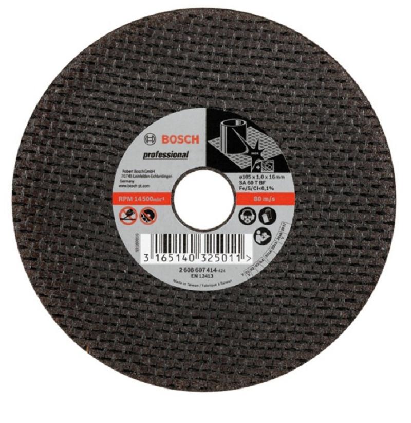Đá cắt 105x1.0x16mm (inox) - Expert for Inox 2608607414 Bosch
