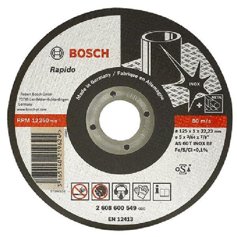 Đá cắt 125x1x22.2mm (Inox) - Expert for Inox 2608600549 Bosch