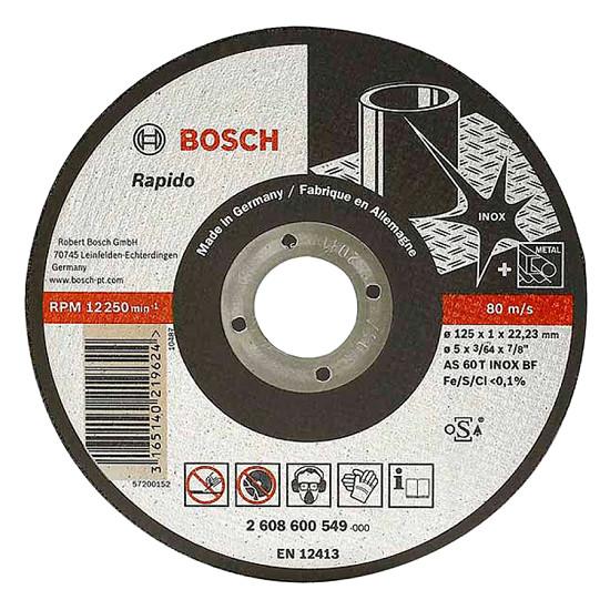 Đá cắt 125x2x22.2mm (Inox) - Expert for Inox 2608600094 Bosch