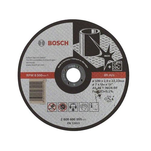 Đá cắt 180x2x22.2mm (Inox) - Expert for Inox 2608600095 Bosch