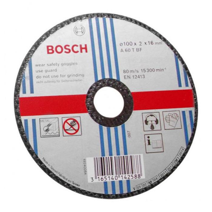 Đá cắt 100x1.2x16mm (sắt) - Standard for Metal 2608600266 Bosch