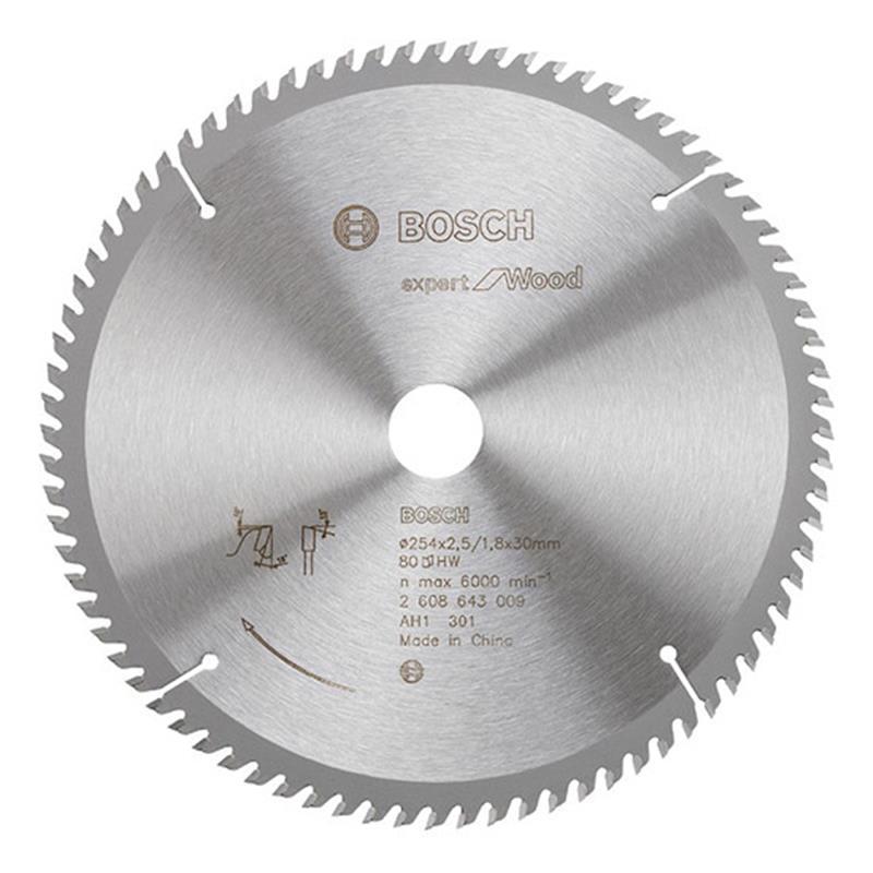 Lưỡi cưa gỗ 254x25.4mm T60 2608643002 Bosch