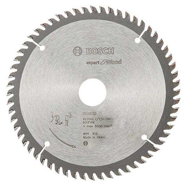 Lưỡi cưa gỗ 254x25.4mm T120 2608643005 Bosch