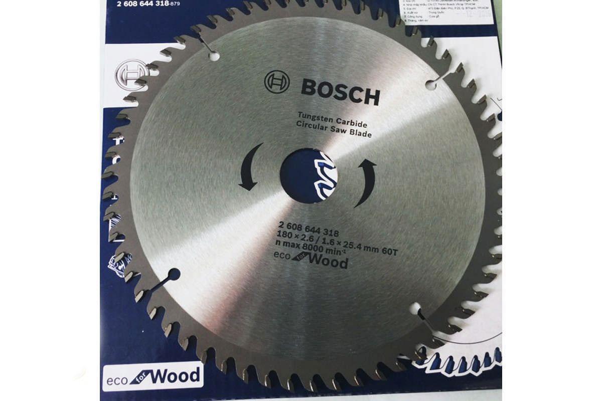 Lưỡi cưa gỗ Mới 180x25.4mm T60 2608644318 Bosch