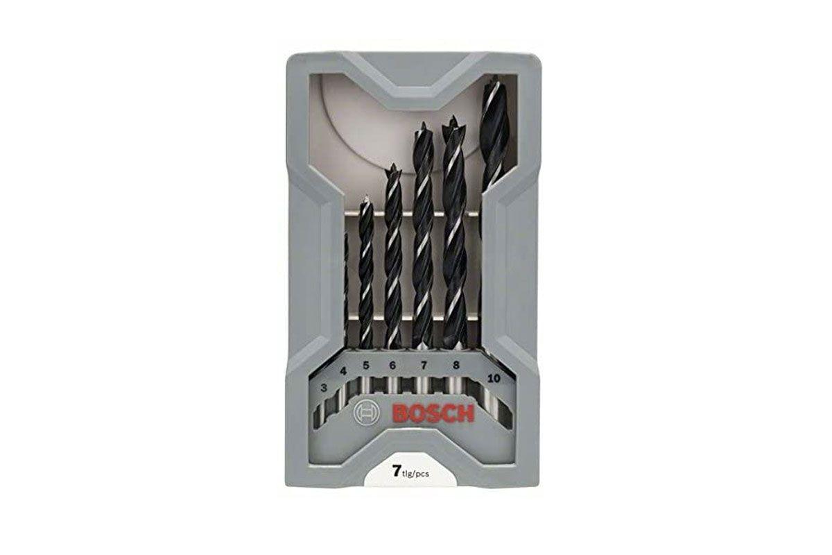 Bộ mũi khoan gỗ thường (7 mũi) 2607017034 Bosch