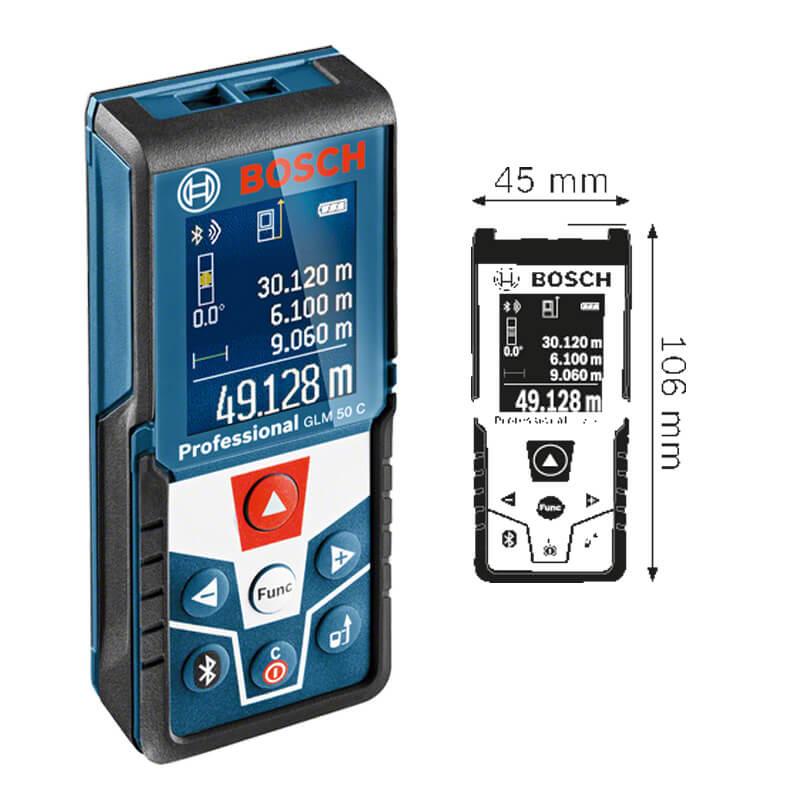 Máy đo khoảng cách laser GLM 50 C 0601072CK0 Bosch
