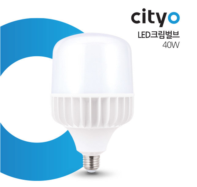 Led Trụ Cream Bulb 40W