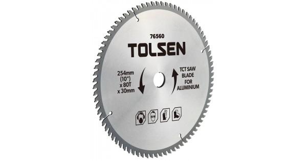 ĐĨA CẮT GỖ 254mm*80 Răng TOLSEN 76560