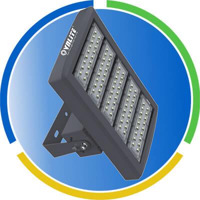 Đèn Led Sport Light 400W - 50.000H - Thân đen