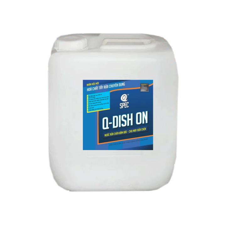 Nước rửa chén đậm đặc cho máy rửa chén AVCO Q-Dish On 20L