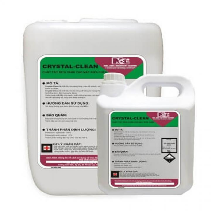 Hóa chất rửa cho máy rửa chén NCL CRYSTAL CLEAN
