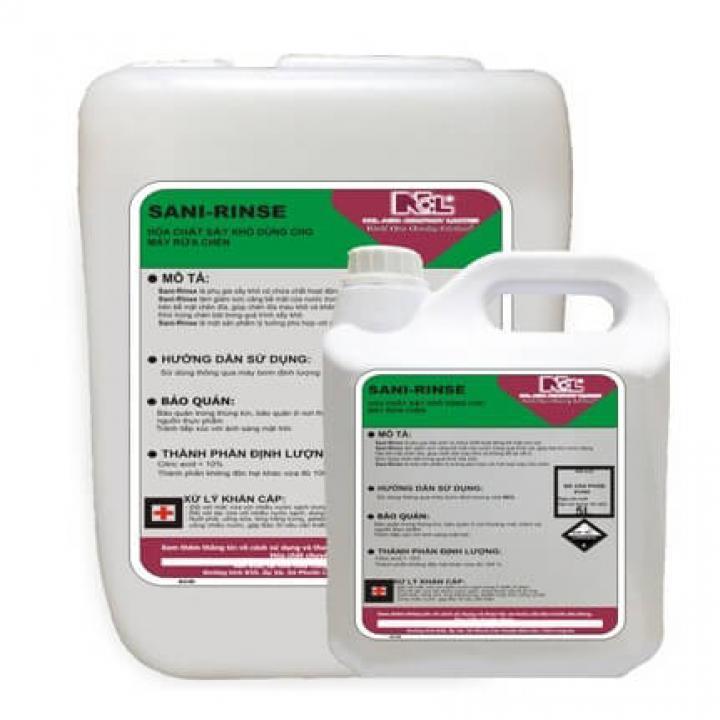 Hóa chất sấy cho máy rửa chén NCL SANI RINSE