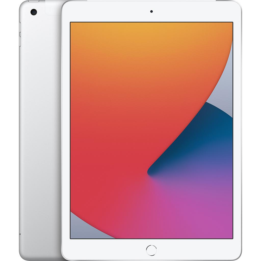Ipad - Apple iPad Gen 8th 10.2-inch Wi-Fi + Cellular 128GB /Bạc - MYMM2ZA/A