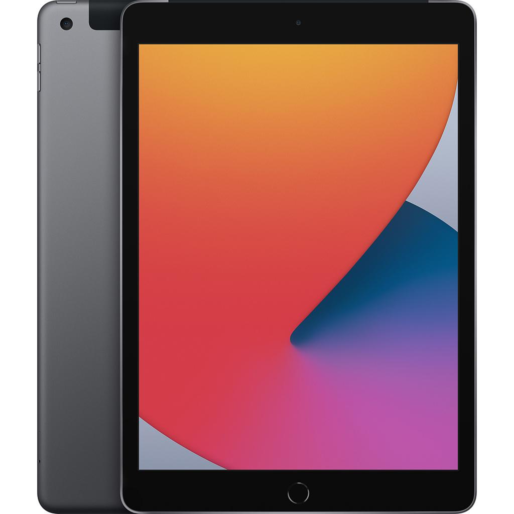 Ipad - Apple iPad Gen 8th 10.2-inch Wi-Fi + Cellular 128GB/Xám - MYML2ZA/A