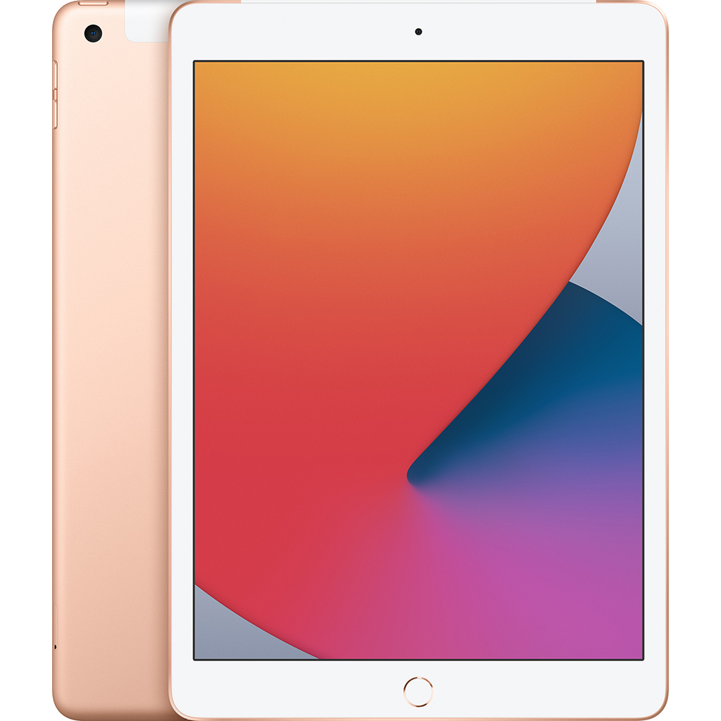 Ipad - Apple iPad Gen 8th 10.2-inch Wi-Fi + Cellular 128GB /Vàng - MYMN2ZA/A