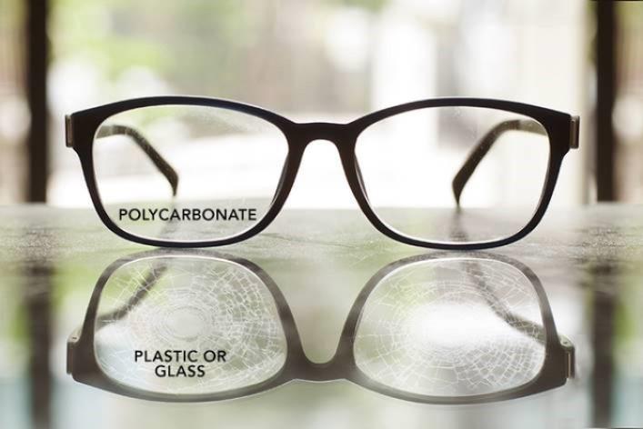 tròng kính polycarbonate