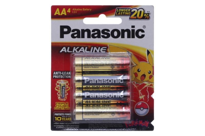 pin panasonic alkaline
