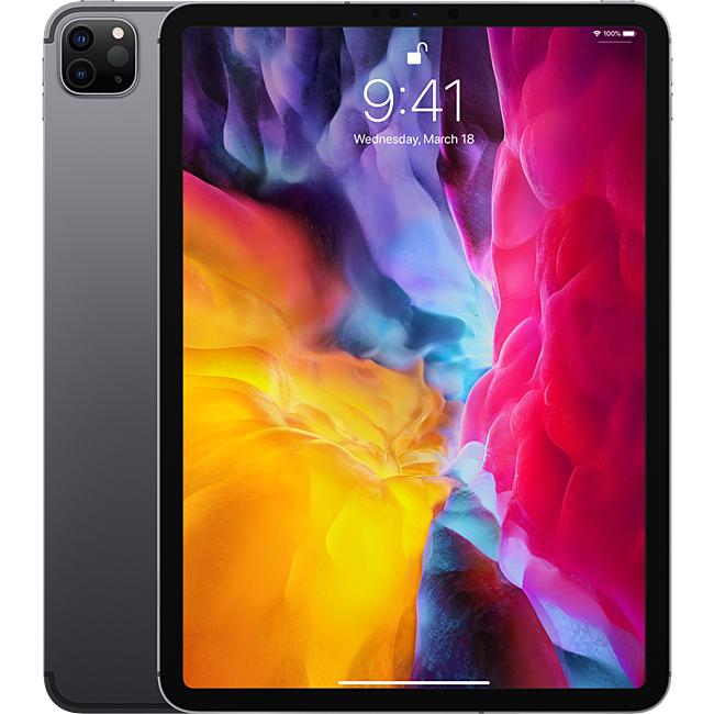 Ipad - Apple iPad Pro 11-inch (2020) Wi-Fi Cellular 1TB Space Grey - MXE82ZA/A