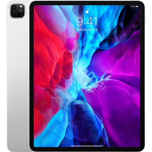 Ipad - Apple iPad Pro 12.9-inch (2020) Wi-Fi Cellular 256GB Silver - MXF62ZA/A