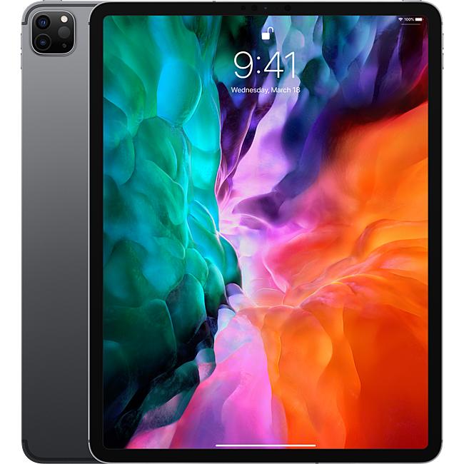 Ipad - Apple iPad Pro 12.9-inch (2020) Wi-Fi Cellular 512GB Space Grey- MXF72ZA/A