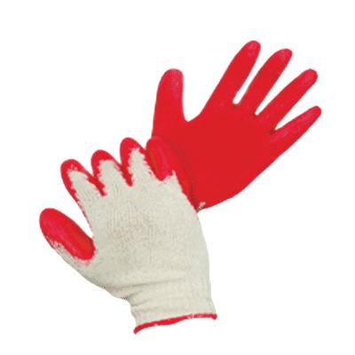 Găng tay sợi phủ cao su đỏ 60g - Kim 10