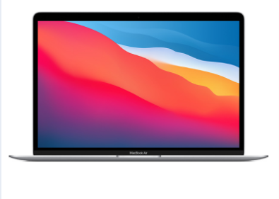 MacBook Air - MBA Apple M1 8-Core CPU/7-Core GPU/8GB RAM/256GB SSD/13.3-inch/xám/vàng/bạc/Mac-OS - MGN63SA/A