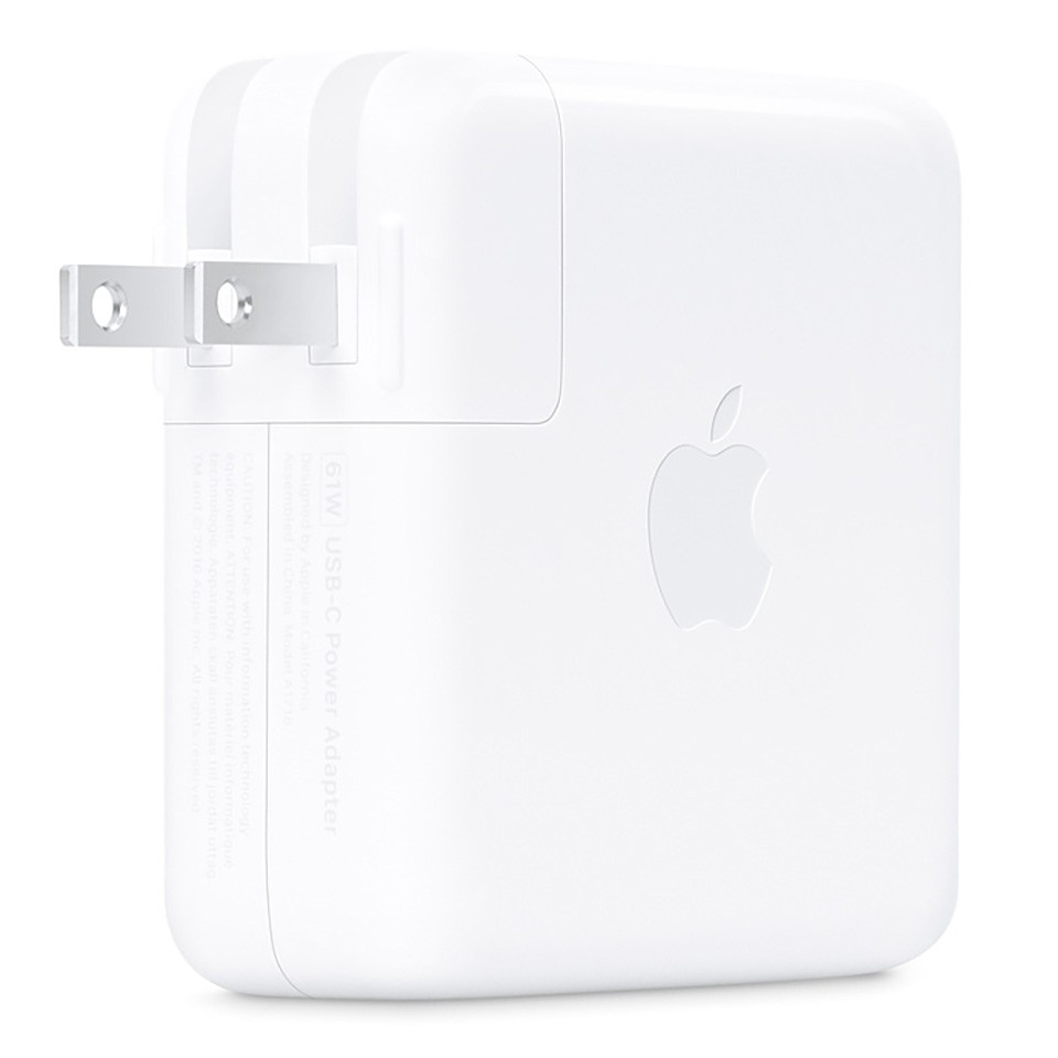 ADAPTER - (ADAPTER) APPLE 61W USB-C POWER ADAPTER - MRW22ZA/A
