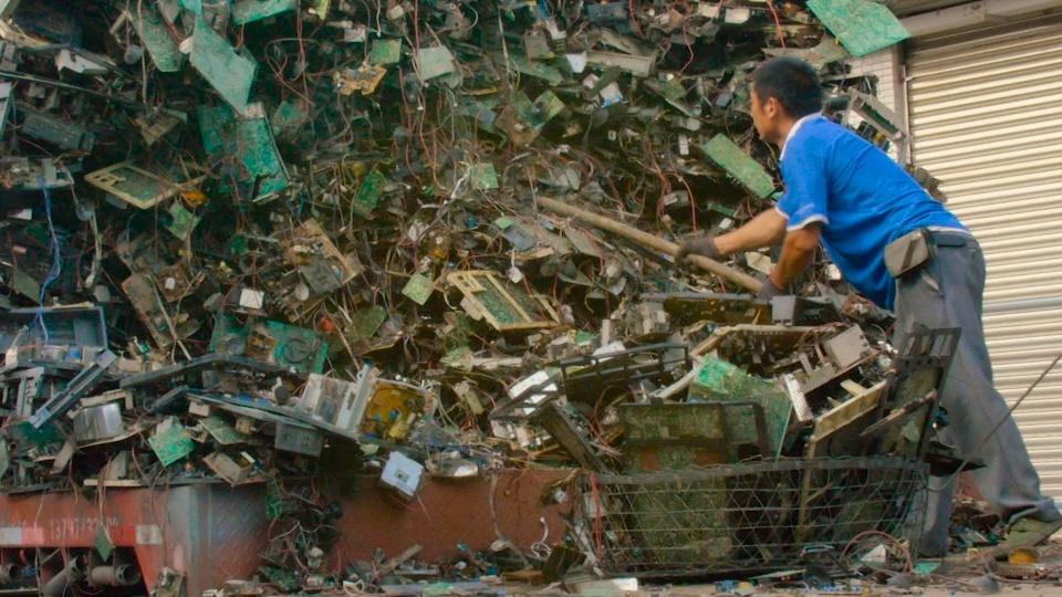 rác thải từ thiết bị điện tử