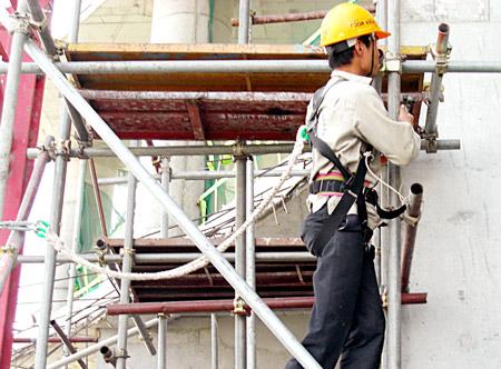 Dây an toàn trong xây dựng