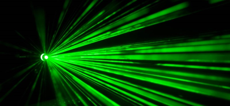 laser xanh